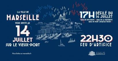 Le programme des festivités du 14 juillet 2020 à Marseille