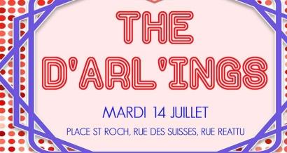 Le 14 juillet c'est The d'Arl'Ings en Arles