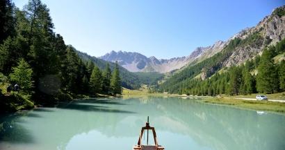 Les plus beaux lacs des Alpes du Sud: Le Lac de l'Orceyrette