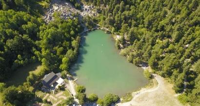 Les plus beaux lacs des Alpes du Sud: Le Lac de Saint-Apollinaire