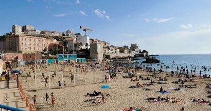 Marseille: la plage des Catalans ouverte jusqu'à 22h et toute la nuit entre samedi et dimanche