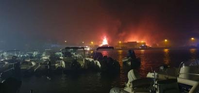 Feu de Martigues: 1500 hectares ravagés. Le point ce mercredi matin et la carte du parcours du feu