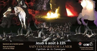 Camargue: Feu d'artifice, musique et show équestre gratuits ce soir aux Saintes Maries de la Mer