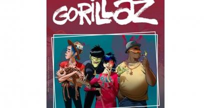 Gorillaz au festival de Nîmes en 2022