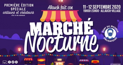 Marché nocturne d'Allauch ce week-end
