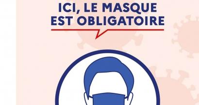 La liste des villes où le port du masque est obligatoire dans le Var