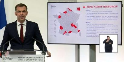 Olivier Véran annonce la fermeture totale des bars et restaurants à Marseille et dans les Bouches du Rhône