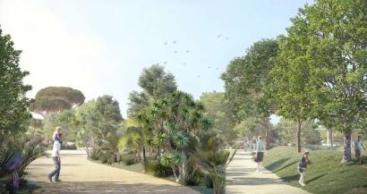 En 2022, le nouveau parc paysager de la Loubière viendra enrichir la trame verte de Toulon
