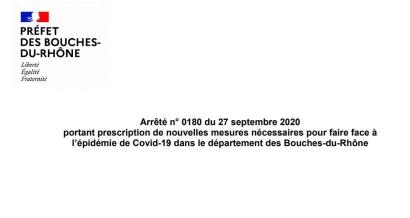 Coronavirus : Quelles sont les nouvelles restrictions appliquées dès demain à Marseille et dans les Bouches du Rhône ?