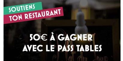 Soutiens ton restaurant, 6000 pass de 50euros offerts aux habitants des Bouches-du-Rhône