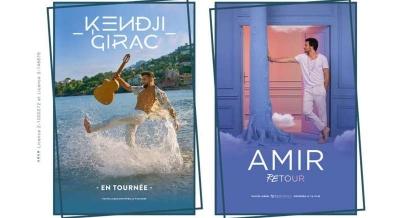 Kendji Girac et Amir seront au festival de Nîmes en 2021