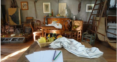 Nouveau : Visite sensorielle en famille à l'atelier de Cezanne