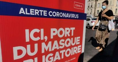 Le port du masque à nouveau obligatoire presque partout à Aix et Marseille