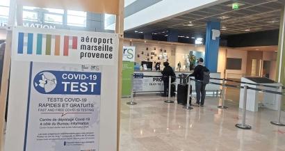 L'aéroport Marseille Provence propose des tests covid-19 gratuits à ses voyageurs