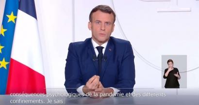 Couvre feu, attestations, fermeture des stations de ski, réouverture des commerces... Les principales annonces d'Emmanuel Macron