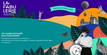Le Fabuleux Musée, un musée immersif ouvrira en janvier à Marseille