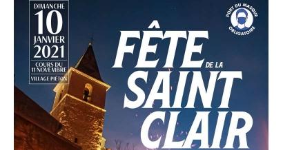 Aménagée mais bien maintenue, la Fête de la Saint-Clair d'Allauch aura lieu ce dimanche 10 janvier
