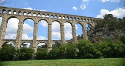 Roquefavour: le plus haut aqueduc en pierre  du monde se refait une beauté