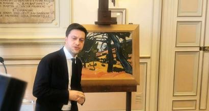 Un tableau de Derain exposé au musée Cantini restitué de René Gimpel
