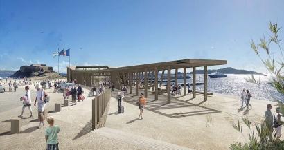 Une nouvelle gare maritime pour embarquer vers Porquerolles dès cet été