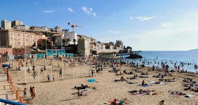 Le port du masque est-il obligatoire sur les plages de la région?