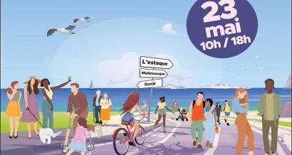 La Corniche et l'Estaque en mode piéton le 23 mai