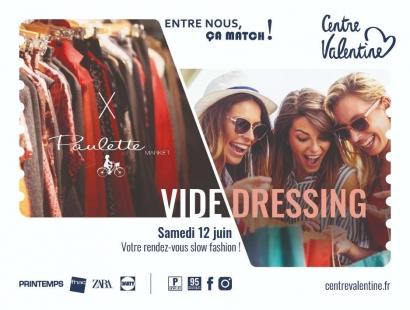 Marseille - Rendez-vous au Centre Valentine ce week-end pour le vide dressing Paulette
