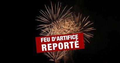 En raison du mistral annoncé, St Cyr reporte son feu d'artifice au 18 juillet