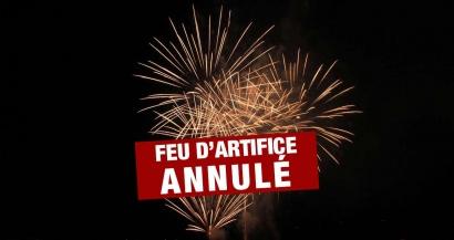 En raison du mistral, le feu d'artifice du 14 juillet de la Seyne sur Mer est annulé