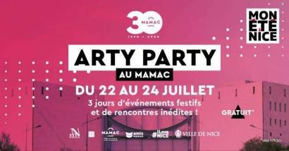 Nice : Trois jours de fête artistique au Mamac