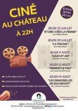 Des séances de cinéma en plein air au Château de Grimaud