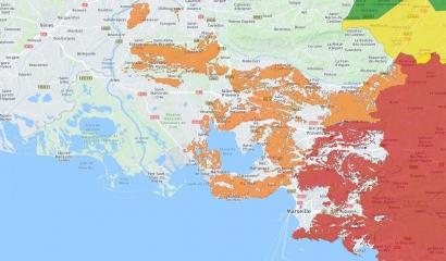 Mistral: de nombreux massifs fermés ce lundi dans les Bouches du Rhône dont les Calanques