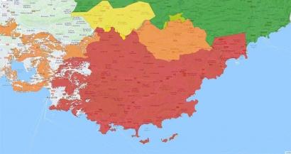 Quasiment tous les massifs du Var interdits au public ce lundi en raison du fort mistral