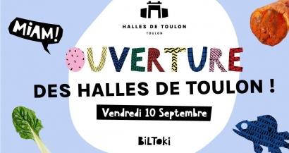 Inauguration des Halles de Toulon, on vous dévoile le programme