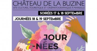 Journées & Nocturnes du Patrimoine au Château de la Buzine, découvrez le programme