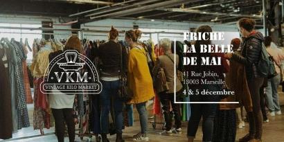 Marseille : Achetez vos vêtement au kilo lors du Vintage Kilo Market à la Friche Belle de Mai