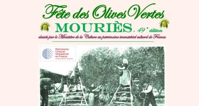 Fête foraine, danses traditionnelles...La ville de Mouriès fête l'olive ce week-end !