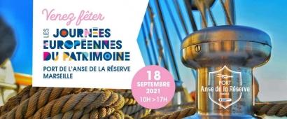 Journées du Patrimoine : Le Port de l'Anse de la Réserve ouvre au grand public