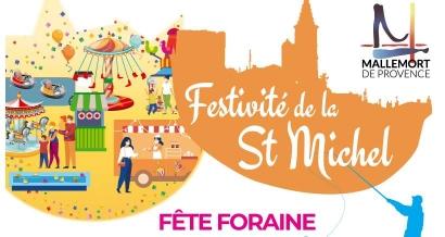 Mallemort : Une fête foraine installée pour la Saint Michel