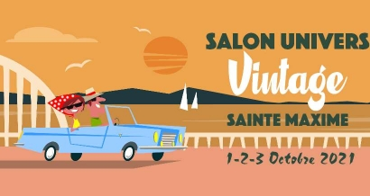 Le Salon Univers Vintage revient à Sainte Maxime du 1er au 3 octobre