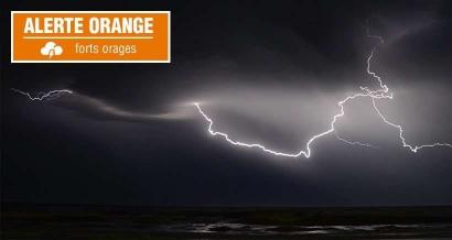 Les Bouches du Rhône et le Var placés en vigilance orange pour de forts orages ce dimanche