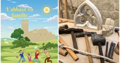 Des animations pendant les vacances à l'abbaye de Montmajour