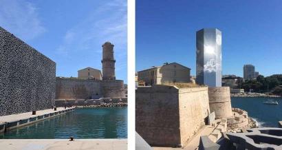 La tour du Mucem va s'habiller tout en lumière jusqu'en juillet 2022