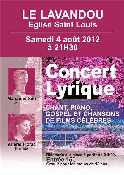 Concert Lyrique - Eglise Du Lavandou