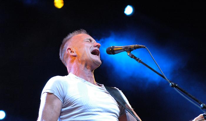 Sting : Une l�gende aux Voix du Gaou