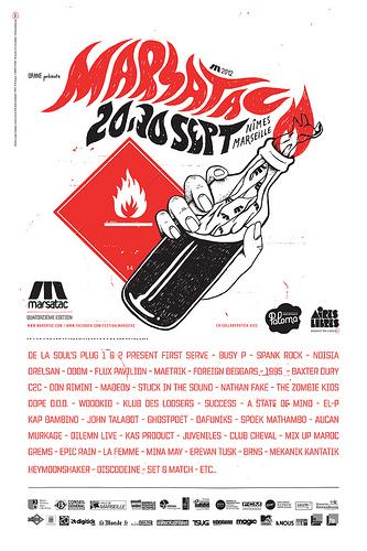 Festival Marsatac 2012