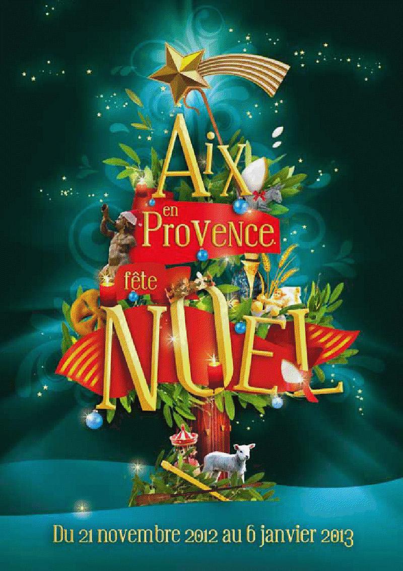 Marché de Noël à Aix en Provence - - Aix En Provence ...