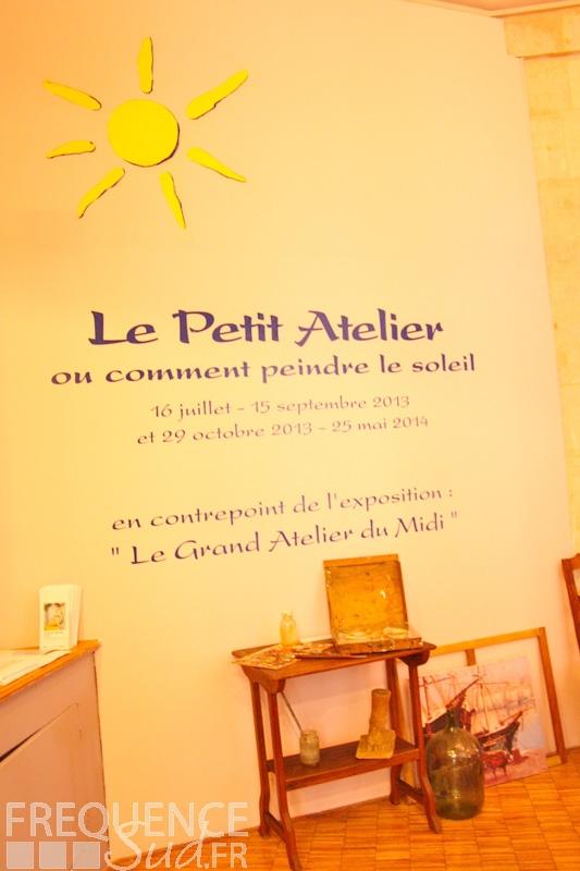 Le Petit Atelier Ou Comment Peindre Le Soleil Du 17072013 Au 31