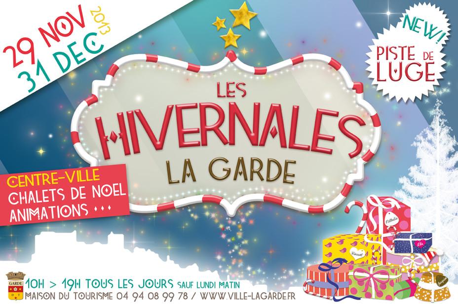 Les Hivernales - Du 29/11/2013 au 31/12/2013 - La Garde