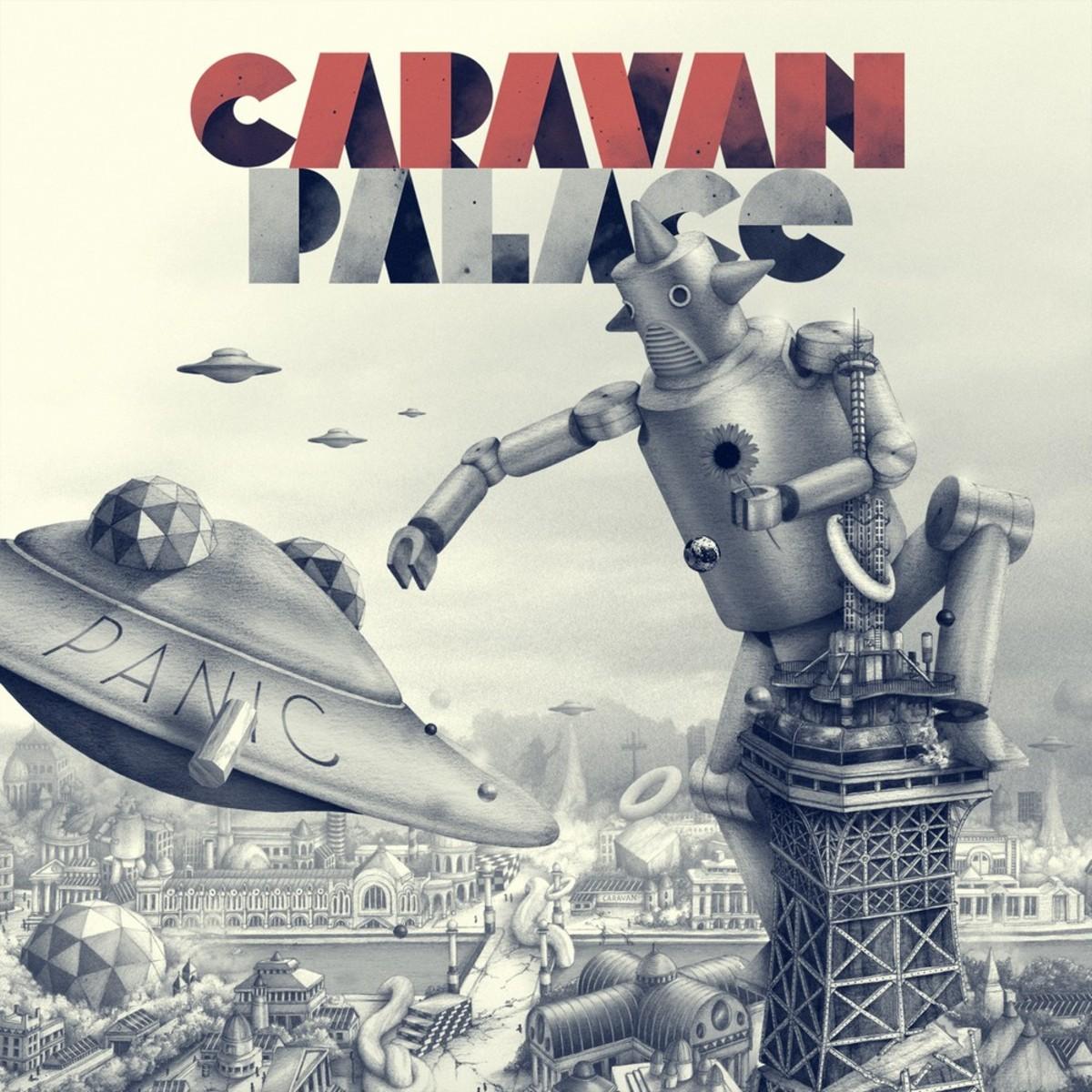 caravan palace - 14  06  2014 - puget-sur-argens